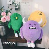 少女心黏黏怪物毛絨玩具公仔系列玩偶禮物【步行者戶外生活館】