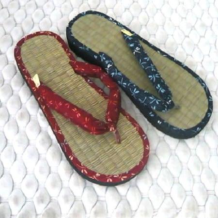 (e鞋院)日式和風藺草夾腳拖鞋