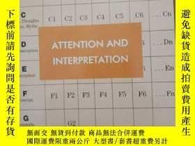 二手書博民逛書店Attention罕見and InterpretationY25