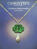 【書寶二手書T2/收藏_DOM】Christie s_Magnificent Jadeite Jewellery_1997/4/29