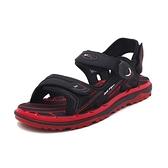 【南紡購物中心】G.P (男女共用款) 中性休閒舒適涼拖鞋 -紅黑(另有寶藍、綠)
