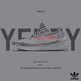 IMPACT ADIDAS YEEZY BOOST 350 V2 Kanye West 灰斑馬 灰橘 神鞋 舒適 好穿 AH2203