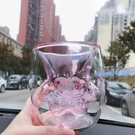 創意杯子 貓爪杯網紅爆款雙層防燙手耐高溫玻璃杯牛奶杯咖啡杯 城市科技