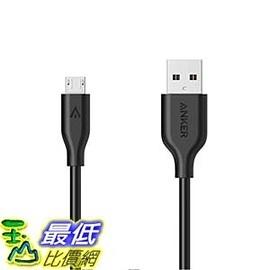 [106美國直購] Anker A8132011 充電線 傳輸線 PowerLine Micro USB (3ft) Charging Cable for Samsung, Nexus, Android _D03
