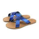 MALVADOS ICON 經典系列 拖鞋 交叉帶 藍色 女鞋 3014-2172 no039