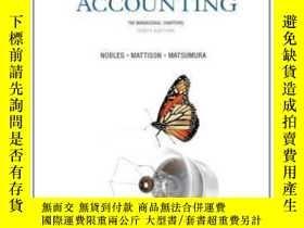 二手書博民逛書店Horngren s罕見Accounting The Managerial Chapters (10th Edit