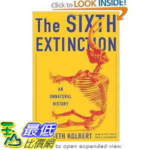 【103玉山網】 2014 美國銷書榜單 The Sixth Extinction: An Unnatural History   $1144