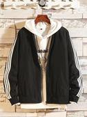 季青少年男裝 棒球領夾克男韓版 休閒運動服外套上衣服