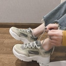 ins潮老爹鞋女冬2020新款學生加絨網紅跑步運動鞋增高百搭顯腳小 蘿莉小腳丫