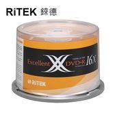 【RiTEK錸德】 16X DVD+R 桶裝 4.7GB X版 50片/組