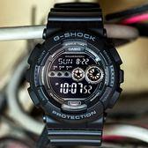 G-SHOCK GD-100-1B 大錶徑漆黑款 GD-100-1BDR 消光黑 現貨!