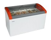丹麥Elcold 冷凍櫃 圓弧形展示冰櫃【4.3尺 冰櫃】型號:FOCUS-131