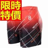 四角泳褲-溫泉獨特復古時尚男平口褲56d81[時尚巴黎]