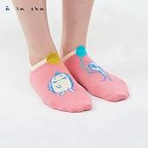a la sha 阿財烏龍的彩色汽球隱形襪