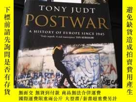 二手書博民逛書店postwar:a罕見history of europe since 1945Y263195 Tony jud