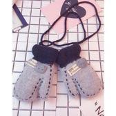 雙11搶購寶寶手套秋冬季1-6歲幼兒手套兒童男女童小孩保暖加絨厚可愛手套