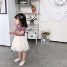 女童夏裝新款洋氣兒童洋裝夏季公主裙中小童女寶寶裙子短袖 夏季新品