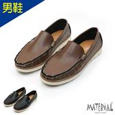 男鞋 皮革紳士休閒鞋 MA女鞋 T23803男