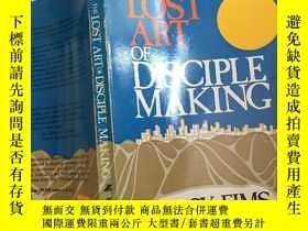 二手書博民逛書店The罕見lost art of disciple makingY429456 Leroy eims Zond
