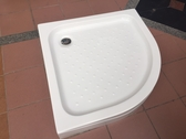 【麗室衛浴】圓弧型壓克力淋浴底盆 LS-5390 90*90*13CM