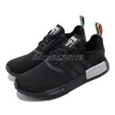 adidas 休閒鞋 NMD_R1 W 黑 彩色 男鞋 女鞋 Boost 襪套式 運動鞋【PUMP306】 Q47261