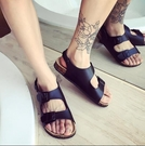 找到自己 MD 韓國 休閒 時尚 男 軟木 低跟 圓頭 防滑涼鞋 沙灘涼鞋拖鞋 學生涼鞋