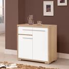 【森可家居】明日香2.6尺餐櫃下座 10ZX642-3 收納廚房櫃 雙色 白色 無印北歐風 MIT