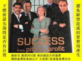 二手書博民逛書店DRAGON S罕見DEN SUCCESS FROM PITCH TO PROFITY20850 Bannat