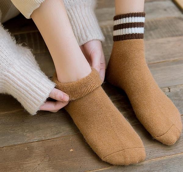 女襪 毛圈加厚長襪子女潮韓版學院風保暖春季韓國日系純棉中筒襪【快速出貨八折下殺】