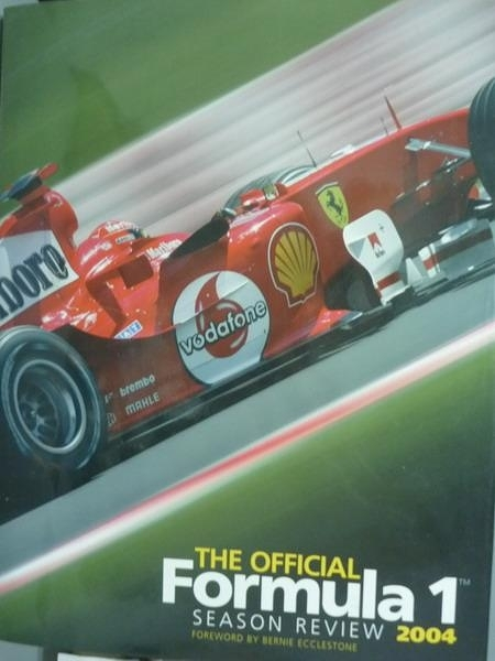 【書寶二手書T9/體育_PNI】The Official Formula 1 Season Review 2004_St