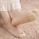 船襪 船襪女超淺口高跟鞋不掉跟吊帶襪隱形硅膠防滑單鞋短冰絲襪子   蜜拉貝爾