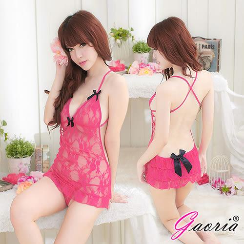 情趣用品【Gaoria】糖心芭比 蕾絲 性感情趣睡衣 N4-0043