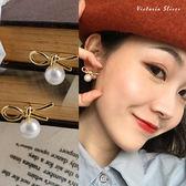 925純銀針  韓國優雅氣質 甜美魅力耳環-維多利亞190583