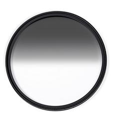 【】H&Y ND0.6 72mm 漸層減光鏡 均勻漸層透光 無色偏抗水防油漬雙面真空鍍膜 GND0.6 (ND4)