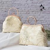 布藝diy 芳菲重工蕾絲刺繡口金包材料包禮服包手工套裝 - 歐美韓熱銷