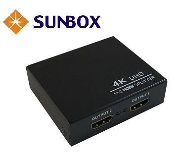 1進2出HDMI 4K2K影音分配器 (VHS122) SUNBOX
