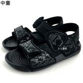 《7+1童鞋》中童 ADIDAS Star Wars AltaSwim C 輕量運動涼鞋 7319 黑色