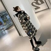 孕婦秋裝上衣女外出套裝時尚款潮媽新款高端孕婦連身裙秋冬裝洋裝 【快速出貨】