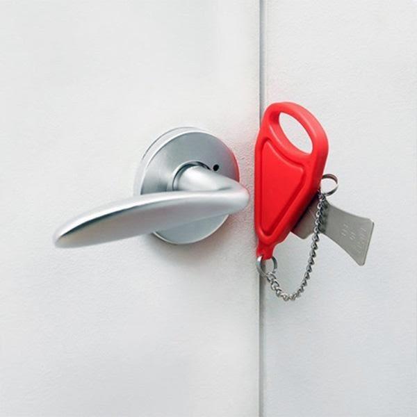 攜帶型防盜門鎖