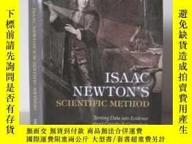 二手書博民逛書店Isaac罕見Newton s Scientific Metho