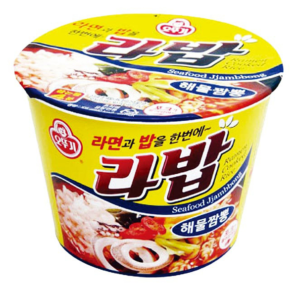韓國不倒翁韓式泡飯湯麵-香辣海鮮風味105g【合迷雅好物超級商城】