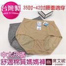 女性 MIT舒適 加大伸縮棉質內褲 35吋~42吋腰圍適穿 孕媽咪也適穿 台灣製造 No.520-席艾妮SHIANEY