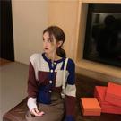 VK精品服飾 韓國復古慵懶風寬鬆氣質針織...