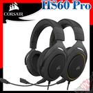 [ PC PARTY ] 海盜船 CORSAIR HS60 Pro 電競耳機 黑 黃色