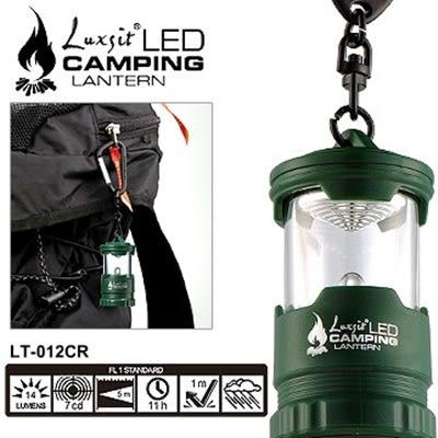 Luxsit LED mini露營燈(綠色#LT-012CR)【AH07044】聖誕節交換禮物 大創意生活百貨