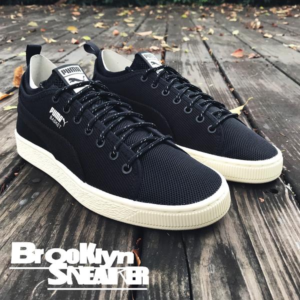 PUMA 休閒鞋 BASKET CLASSIC SOCK LO V2 奶油底 黑 襪套  男 (布魯克林) 36661401