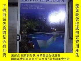 二手書博民逛書店AD罕見ARCHTECTURAL DIGEST DECEMBER 2007 。Y180897