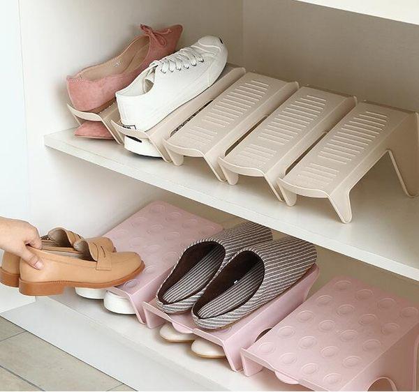 鞋托架宿舍鞋子收納神器雙層一體式鞋架家居寢室鞋櫃放拖鞋整理架