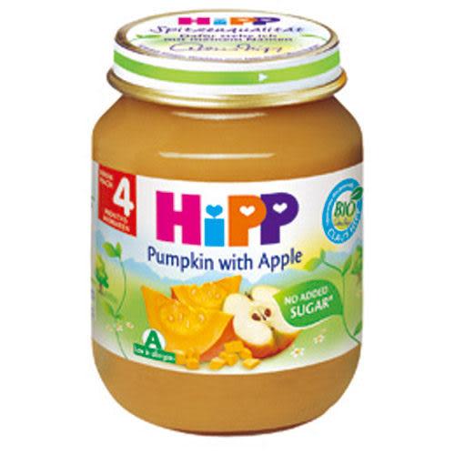 【奇買親子購物網】HiPP喜寶有機南瓜蘋果泥/1入
