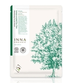 Inna Organic 童顏有機 升級版檸檬茶樹平衡控油隱形面膜 1片